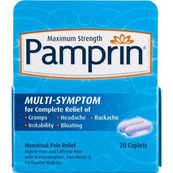 Pamprin Maximum Strength Multi-Symptom Menstrual Pain Relief Caplets 20 ct