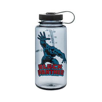 Nalgene Marvel Tritan Wide Mouth Water Bottle - 32 oz. - Black Panther In Action