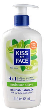 Kiss My Face 0587915 Moisture Shave Key Lime - 11 fl oz