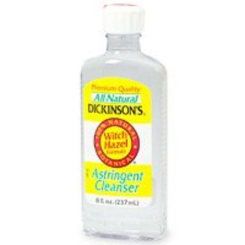 Dickinson's Astringent Cleanser, All Natural Witch Hazel Formula - 8 fl oz