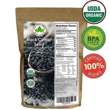 Black Cumin Seed 1lb (16Oz) (Bulk Nigella Sativa): 100% USDA Certified ORGANIC Bulk Egyptian Black Seeds (Black Caraway) - AKA Nigella or Kalonji, by U.S. Wellness Naturals