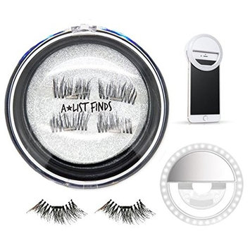 Magnetic Eyelashes, Selfie Light, Natural Magnetic Lashes, Magnetic false eyelashes, Magnetic Eyelashes Prime by A List Finds