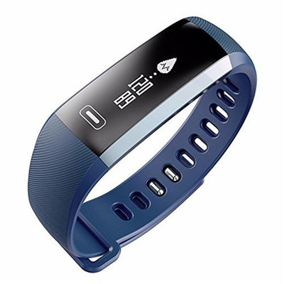 TechComm M2 Fitness Tracker with Heart Rate & Blood Pressure Monitor