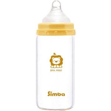 Mqbix Acoustics Technology Simba P6909 Light Glass Bottle, Beige, 6 oz