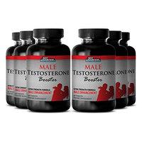 Tribulus Natural - Male Testosterone Booster - Premium testosterone booster for men (6 Bottles 360 Tablets)