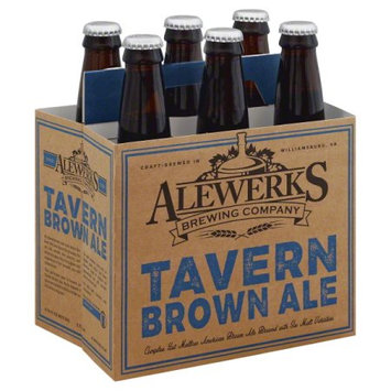 Williamsburg Alewerks Tavern Ale 6/12 B