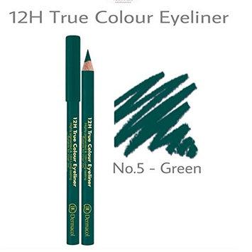 Dermacol 12H True Color Eyeliner 446 NO.5 - GREEN