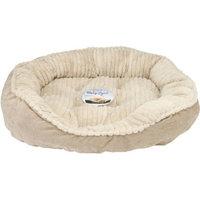 Carved Plush Cuddler Step-In Bed, 32