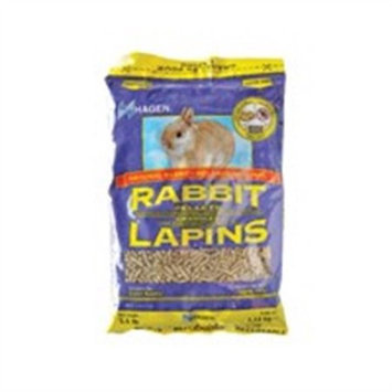RC Hagen H1153 Rabbit Pellets, 2.5 lb, bag