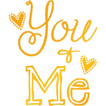 Artdeco Creations UL158087 1.9 x 2.2 in. Ultimate Crafts Sweet Sentiments Hotfoil Plate You & Me