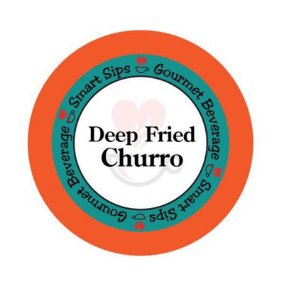 Smart Sips Coffee Deep Fried Churro Flavored Coffee, 48 Count, Compatible With All Keurig K-cup Machines