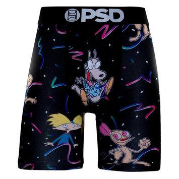 PSD Men's Crossover Black Boxer Brief Underwear