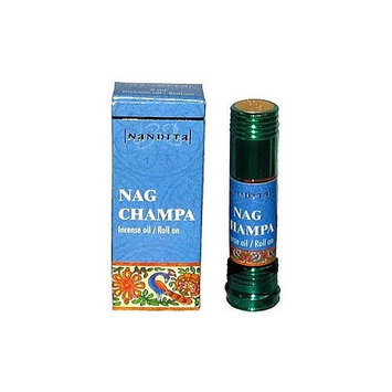 Nag Champa - Nandita Incense Oil/Roll On - 1/4 Ounce Bottle