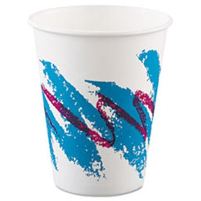 Solo 670-378JZJ 8 oz. Cup Company Jazz Hot Paper Cups