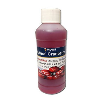 Brewer's Best Natural Beer and Wine Fruit Flavoring (Cranberry)
