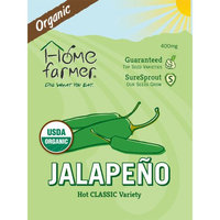 Home Farmer Organic Jalapeno Pepper (Classic) Seed Packet