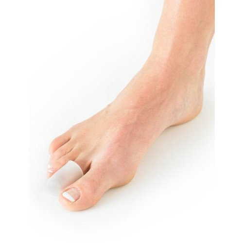 NEO G Silicone Toe Cap - SMALL - Medical Grade Quality, Premium Quality Silicone HELPS Inter digital corns, blisters, realign toes, hammer/claw toes, friction and pressure - Unisex