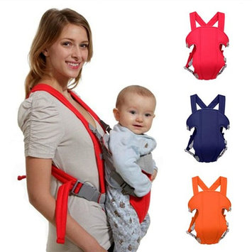 Costyle Breathable Soft Infant Newborn Baby Carrier Backpack High Quality Front Back Rider Sling ,Orange