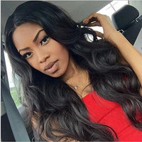 H&N Hair Full Lace Wigs Body Wave Brazilian Virgin Human Hair Wigs with Baby Hair 130% Density For Black Women Natural Color 20inch