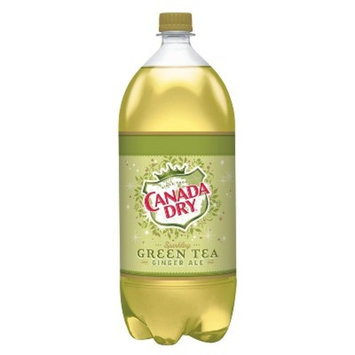 Canada Dry Sparkling Green Tea Ginger Ale - 2 L Bottle