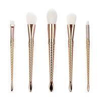 Becoler Eyebrow Eyeliner Blush Cosmetic Concealer Brushes 7 Pieces