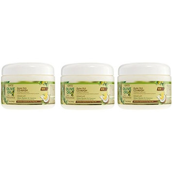 [VALUE PACK OF 3] ORS OLIVE OIL FOR NATURALS BUTTER RICH CO-WASH 12 OZ: Beauty