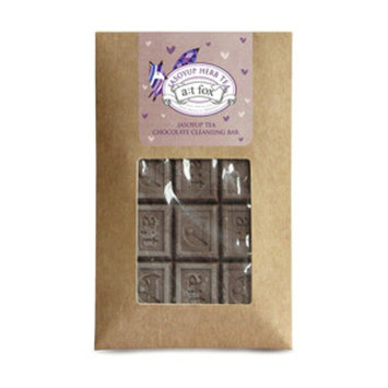 A;T Fox Jasoyup Tea Chocolate Cleansing Bar, 2.2 OZ