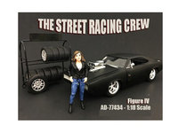 American Diorama 77434 The Street Racing Crew Figure IV for 118 Scale Models