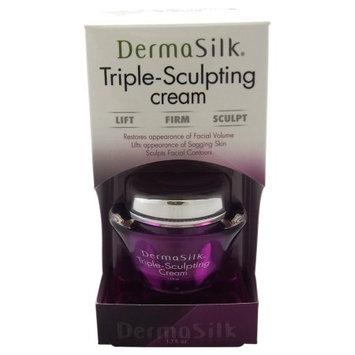 Triple-Sculpting Cream by DermaSilk for Women - 1.7 oz Anti-Aging Cream
