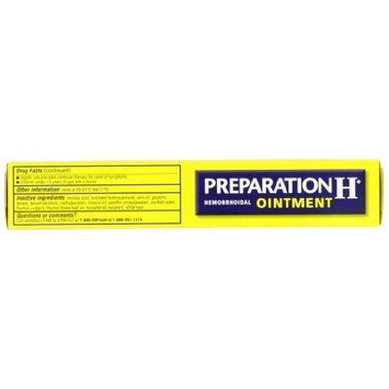 Preparation H Hemorrhoidal Ointment for Prompt Relief Tube (2.0 Ounce), Pack of 2
