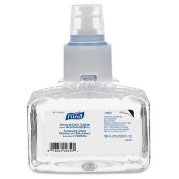 Gojo 130403CT Hand Sanitizer Refill f/LTX-7, 700ml, 3/CT, Clear