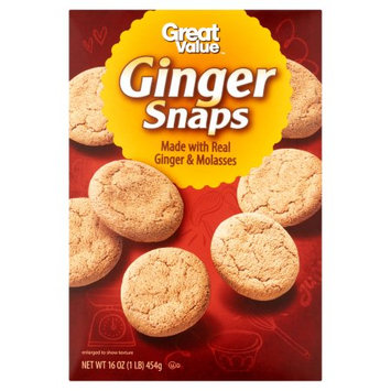 Wal-mart Stores, Inc. Great Value Ginger Snaps, 16 oz