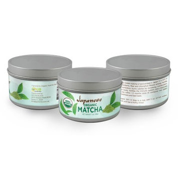 Gb Distribution Japanese Organic Matcha, Classic Culinary Grade, 100 % USDA, Boosts Energy, Memory, Concentration, and Burns Calories, 28Gr.