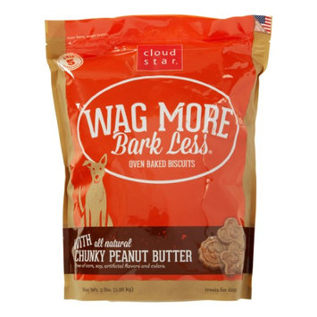 Animal Supply Company CW72502 Oven Baked Treats With Peanut Butter - 3 lbs.