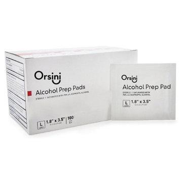 Orsini Sterile Alcohol Prep Pads, Large (Pack of 1,000)