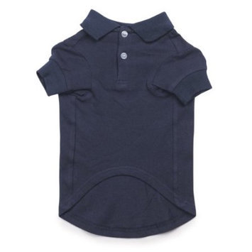 Pet Pals ZM1028 12 57 Casual Canine Basic Polo Shirt Sm Navy