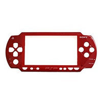Sony Faceplate for PSP 1000, Front Shell Only - Red