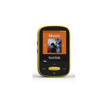 Sandisk CS8GBY Clip Sport Mp3 Player 8GB Yellow