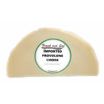 Provolone Cheese Premium (Sharp) One Pound. Frank and Sal Imported Cut Fresh and Vacuum Sealed Daily To Order