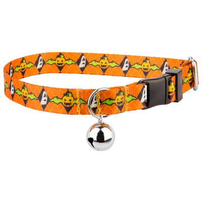 Country Brook Petz™ When Pumpkins Fly Featherweight Cat Collar
