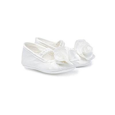 Monnalisa Girls' First Walking Shoes White WHITE