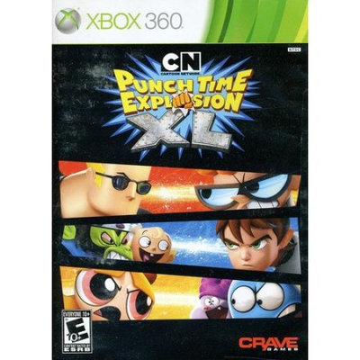 Crave Cartoon Network: Punch Time Explosion XL (used)