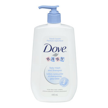 Dove Baby Body Wash & Shampoo Fresh Scent