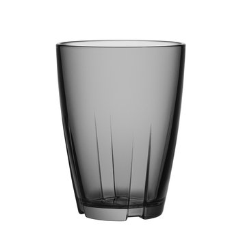 Kosta Boda Stackable Glass Tumbler (Set of 8)Smoke Grey - Large