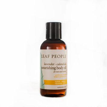 Leaf People Lavender Calendula Body Serum Oil4 oz.