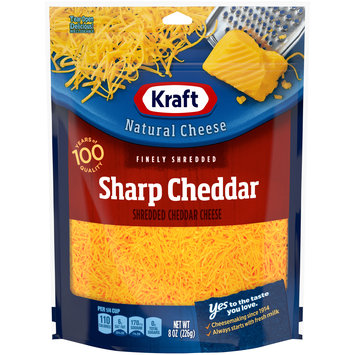 Kraft Sharp Cheddar Finely Shredded Natural Cheese