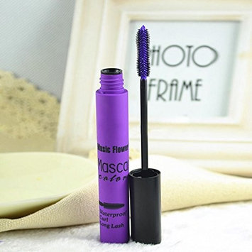 Dtemple 3 Colors Waterproof Mascara Wands New Colorful Quick Dry Lengthening Mascara Cream