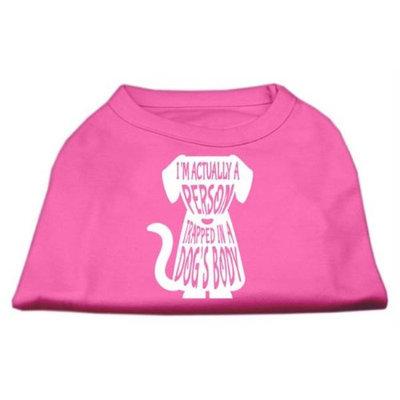 Ahi Trapped Screen Print Shirt Bright Pink Med (12)