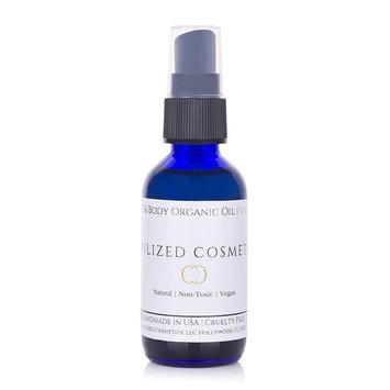 Vanilla Scented Face & Body OIl - Organic, Natural, Non-Toxic, Cruelty-Free, Plant-Based
