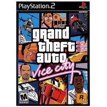 Rockstar Games Pre-Owned Grand Theft Auto Vice City for Sony PS2